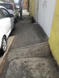 Cuernavaca side walks