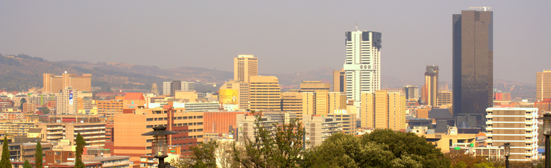 Windhoek Namibia City Skyline
