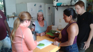 Cooking lesson in Mexico