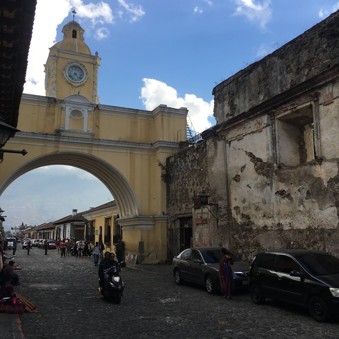 Archway in Antigua