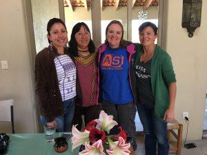 four women group photo