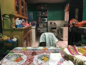 a modest kitchen in Guatemala