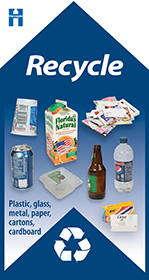 Hennepin County Recycle: plastic, glass, metal, paper, cartons, cardboard