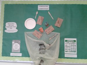 Compost Board Luther Hall - Composting Competition