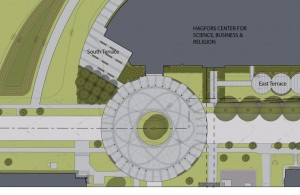 Rotunda site plan