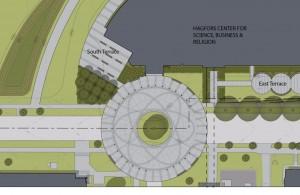 Rotunda site plan