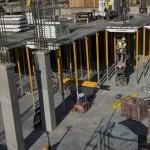 View of Hagfors Center basement construction - June 2016