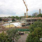 Hagfors Center construction site August 19, 2016