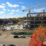 Hagfors Center construction site October 20, 2016