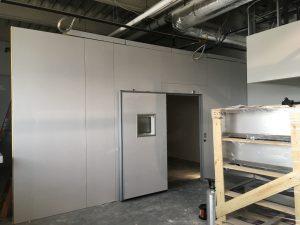 July 31, 2017, Shells for grow room freezers