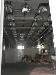 Special lighting in grow rooms