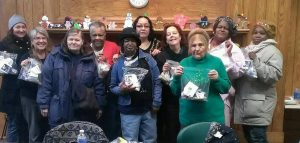 Health Commons Participants with Hygiene Kits