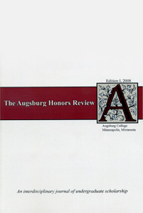 Honors_Review_2008_cover
