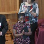 International student receives leadership award.