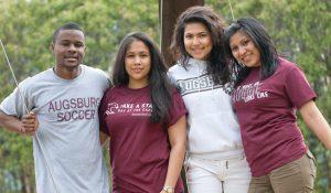 International students gathering