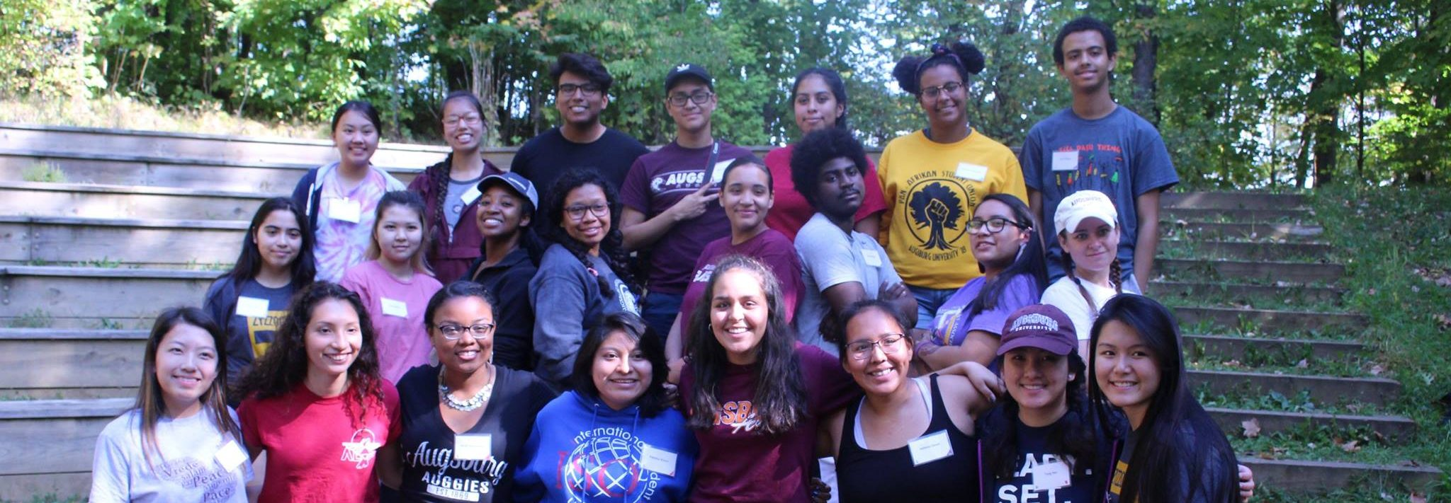 Leaders from Multicultural Student Organizations gather at annual Fall Leadership Retreat.