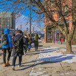 Students explore off campus in Cedar Riverside neighborhood.