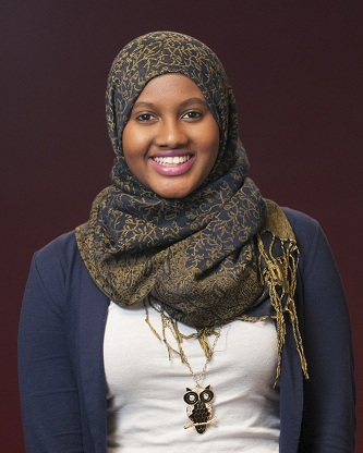 McNair Scholar Amal Warsame
