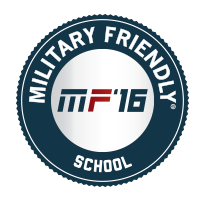 Military Friendly School '16 Badge