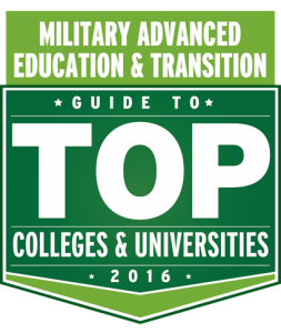 Military Advanced Education & Transition: Guide to Top Colleges and Universities 2016 Badge