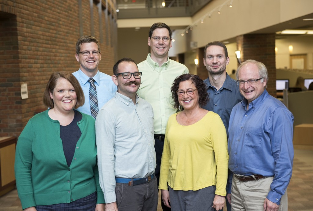 2015 Mathematics Department Faculty Photo