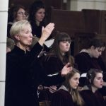 Augsburg Advent Vespers image with Nancy Grundahl Conducting