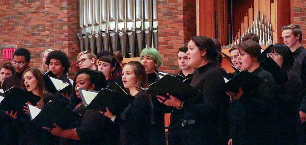Augsburg Choir Fall 2019