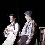 Opera Cast members performing during Tienda
