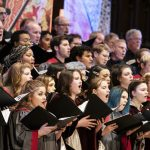 Image of Mass Choirs during the 2019 Advent Vespers Service
