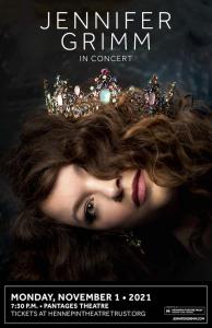 Image of Jennifer Grim's concert poster