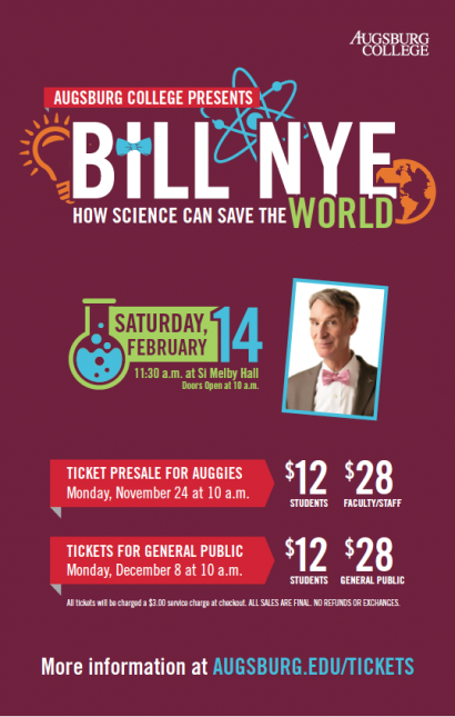 Bill Nye Ticket Information