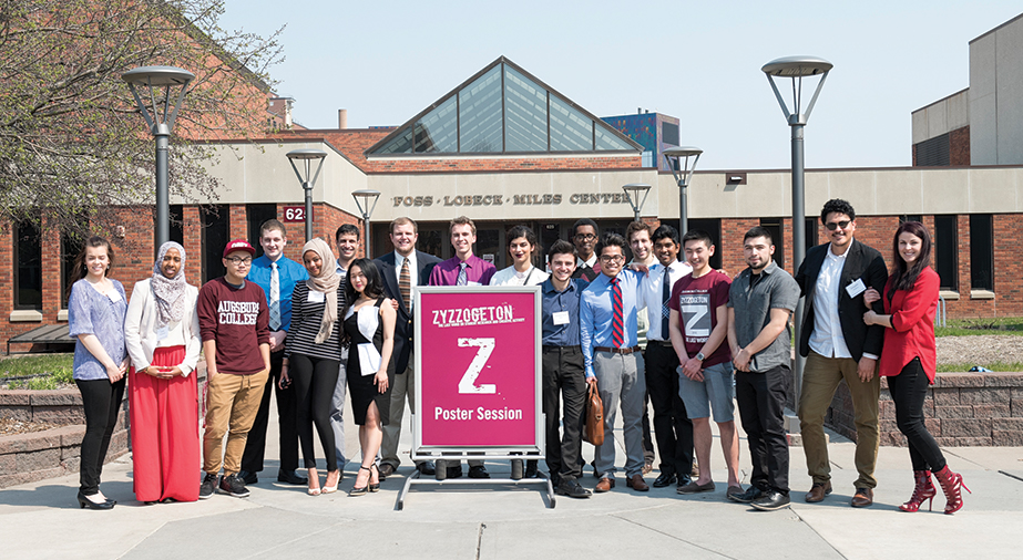 AugSTEM students at Zyzzogeton