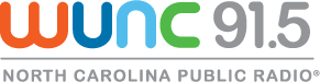 WUNC 91.5 radio station logo