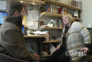 Jeanne Boeh talks to Kare11