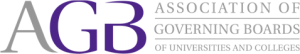 The Association of Governing Boards of Universities and Colleges logo