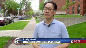Andrew Aoki speaks with KSTP