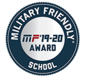 Military Friendly School stamp