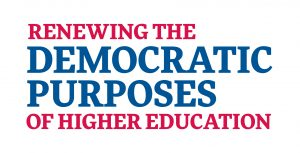 Essay Title: Renewing the Democratic Purposes of Higher Education