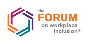 The 'Forum on workplace inclusion' logo