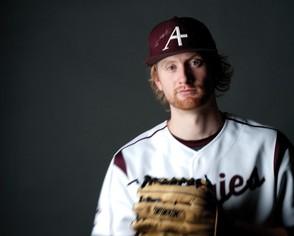 Auggies on the field — Paul Hallgren '13