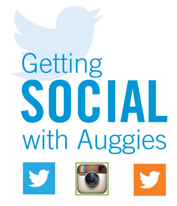 Getting social with Auggies