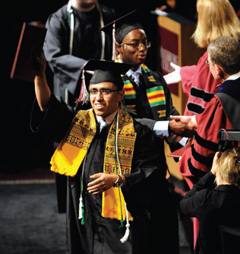 Augsburg shifts student's dream into high gear