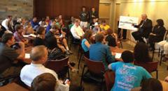 Minn. Senate Higher Education Committee visits campus