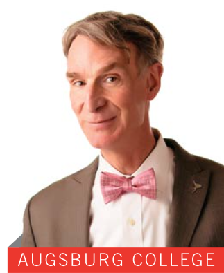 Bill Nye 'The Science Guy' speaks at Augsburg on Valentine's Day