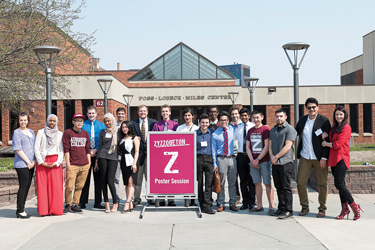 AugSTEM students at Zyzzogeton Research Symposium