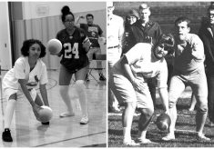 Now and then: Auggie Homecoming
