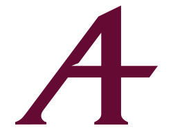 "The new ""A"" icon of Augsburg University"