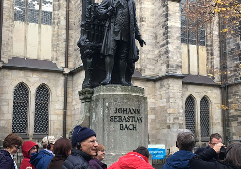 Germany: St. Thomas Church where Johann Sebastian Bach was cantor