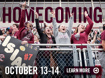 Homecoming October 13-14 Learn more