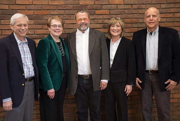 Retiring faculty members